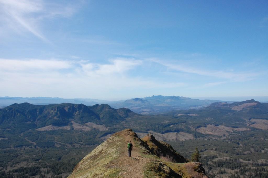 Saddle Mountain in Oregon's Coastal Mountain Range | theringers.co