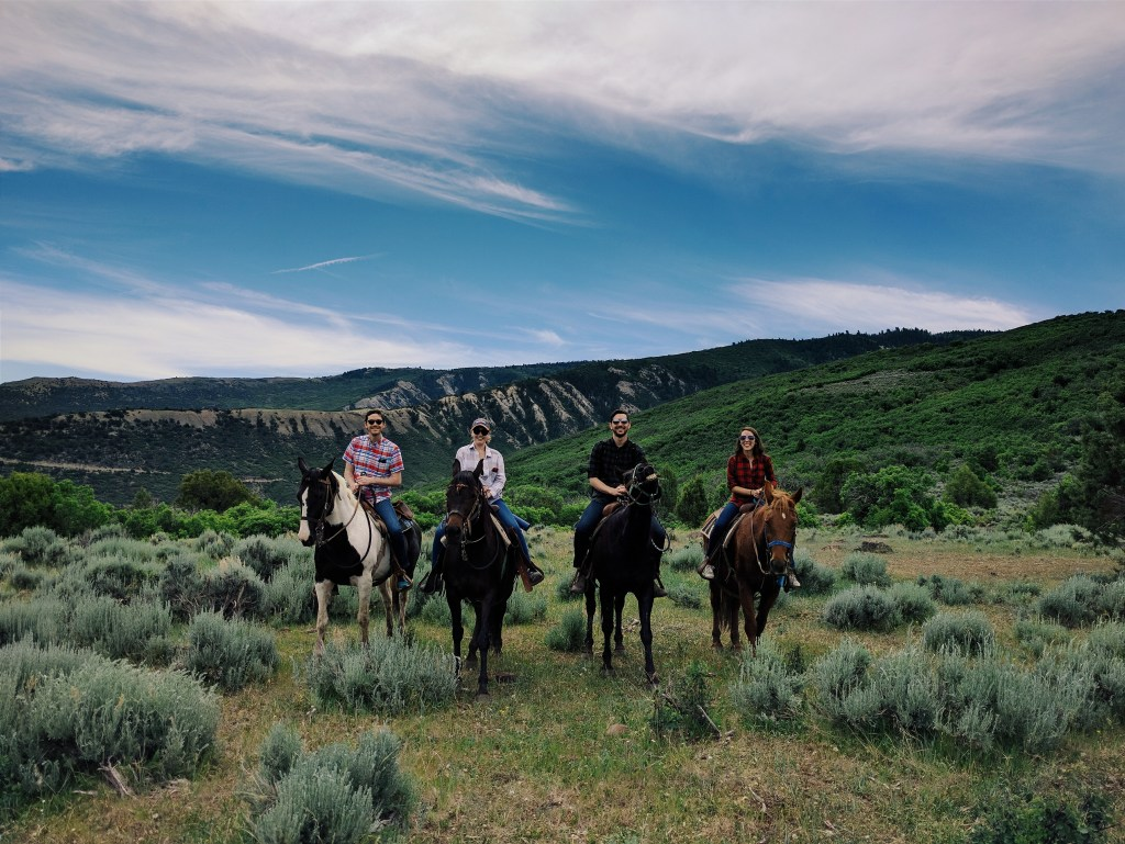 Horseback riding at Bair Ranch | theringers.co