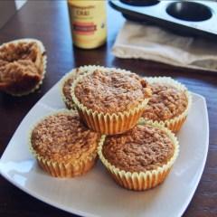 Gluten-Free Banana Chai Latte Muffins