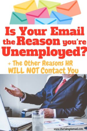 Is Your Email Address The Reason You're Unemployed? The Rising Damsel