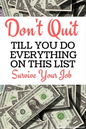 Don't Quit Your Job! Do this First. Survive Your Career. The Rising Damsel