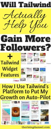 Will Tailwind Actually Help you Gain Followers? Widget and Scheduling help to get you on auto-pilot #blogger #blog #pinterest #tailwind #followers #socialmedia #guide #help