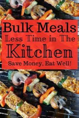 Bulk Meals Get the Most of doing the least in the kitchen! Fun and easy meals that stretch and your families will love! The Rising Damsel