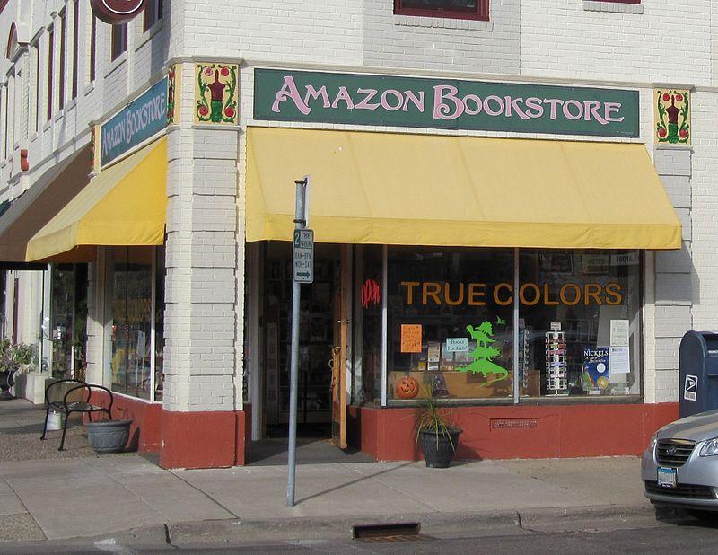 The River of Pride True Colors Bookstore formerly Amazon Bookstore