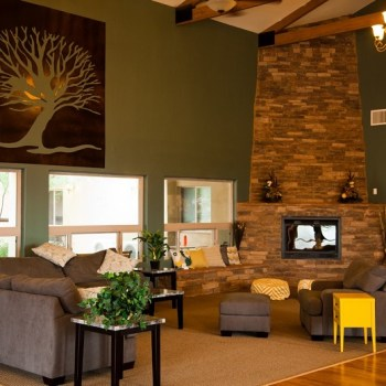 Mesquite Grove-Grand Entry Fireplace Sitting Area-RiverSource