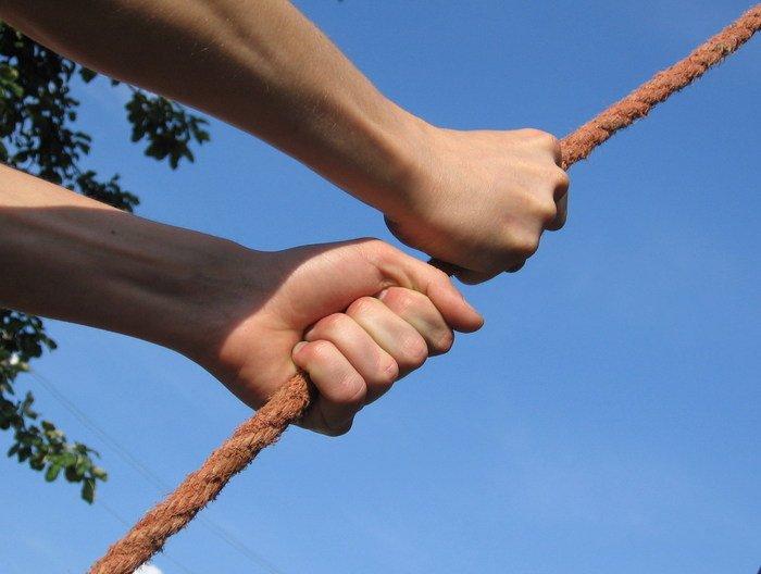 Tighten Your Hands