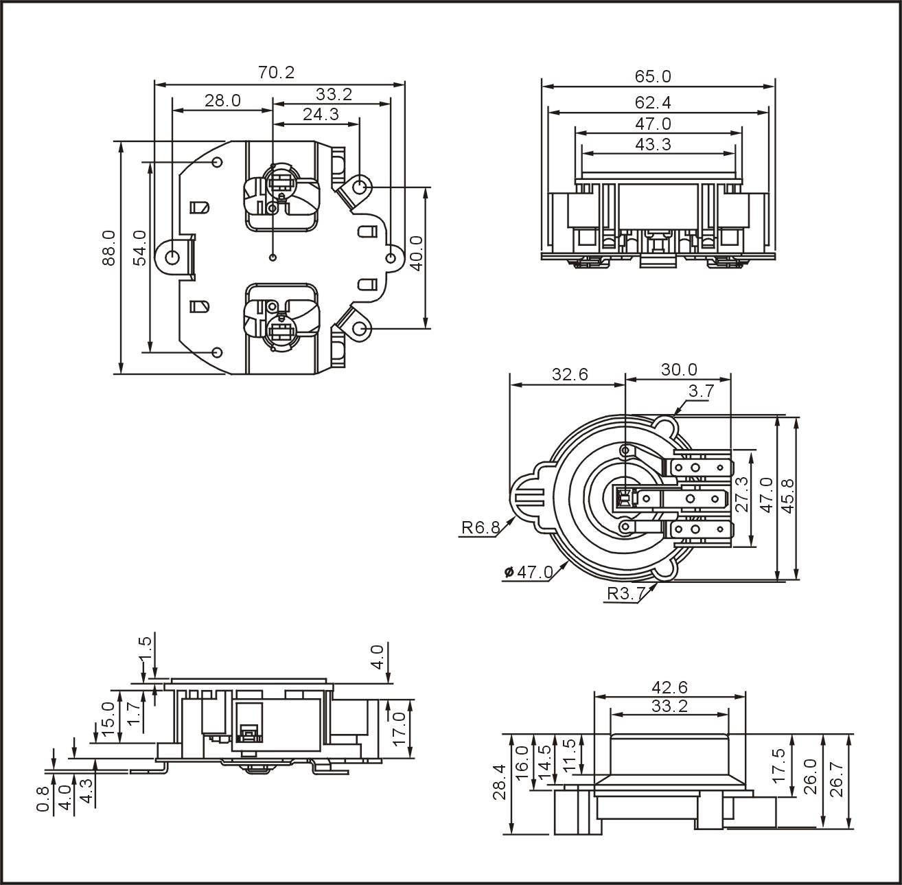 360degree Kettle Thermostat Ksd310e Supplier China
