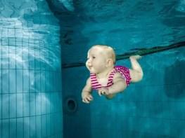 Babyschwimmen undn Tauchen