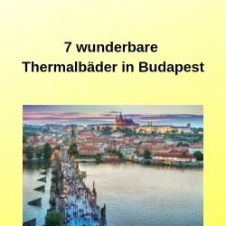 7 wunderbare Thermalbäder in Budapest