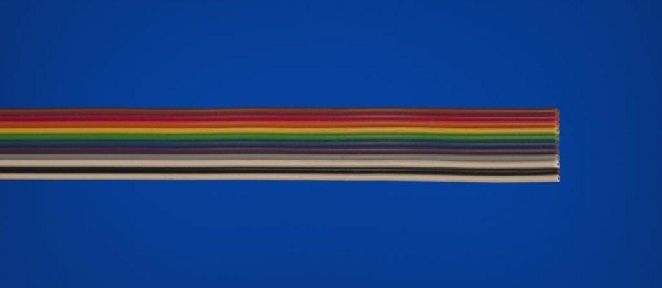 250°C (482°F) PFA High Temperature Ribbon Cable