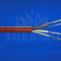 200°C (392°F) Silicone Rubber Multi-Conductor Cable 600V