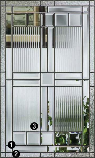 Saratoga Decorative Amp Specialty Glass Therma Tru Doors