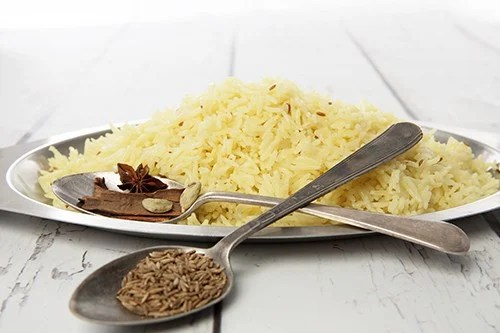 Saffron Butter Rice