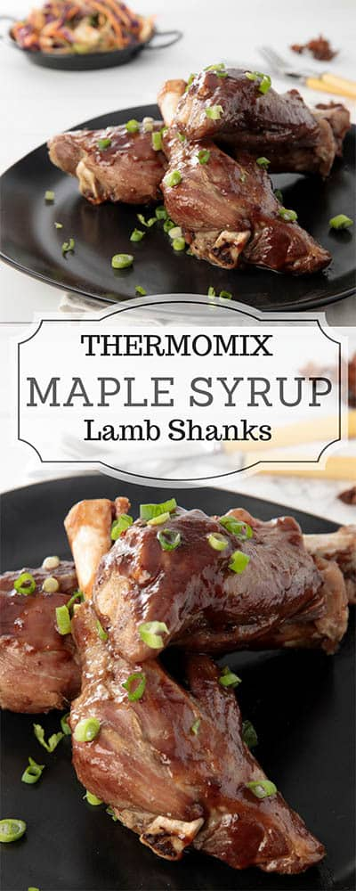 Maple Syrup Lamb Shank Pin