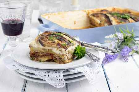 Layered Vegetarian Moussaka
