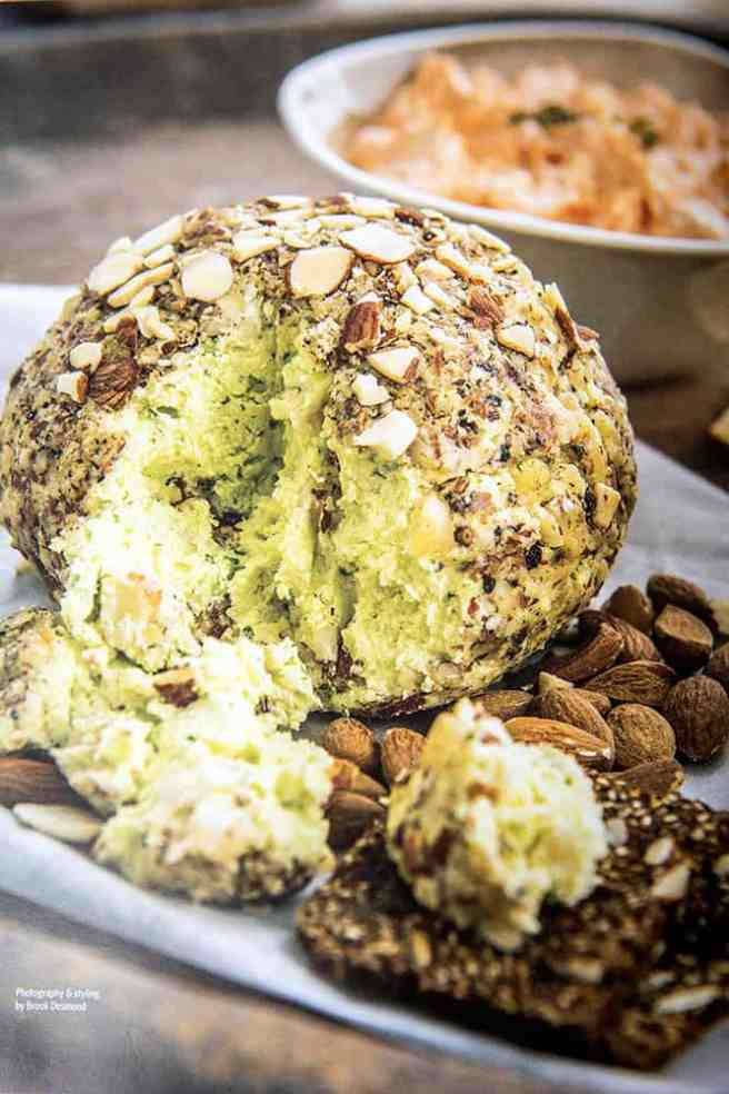 Thermomix Cashew Cheese Ball