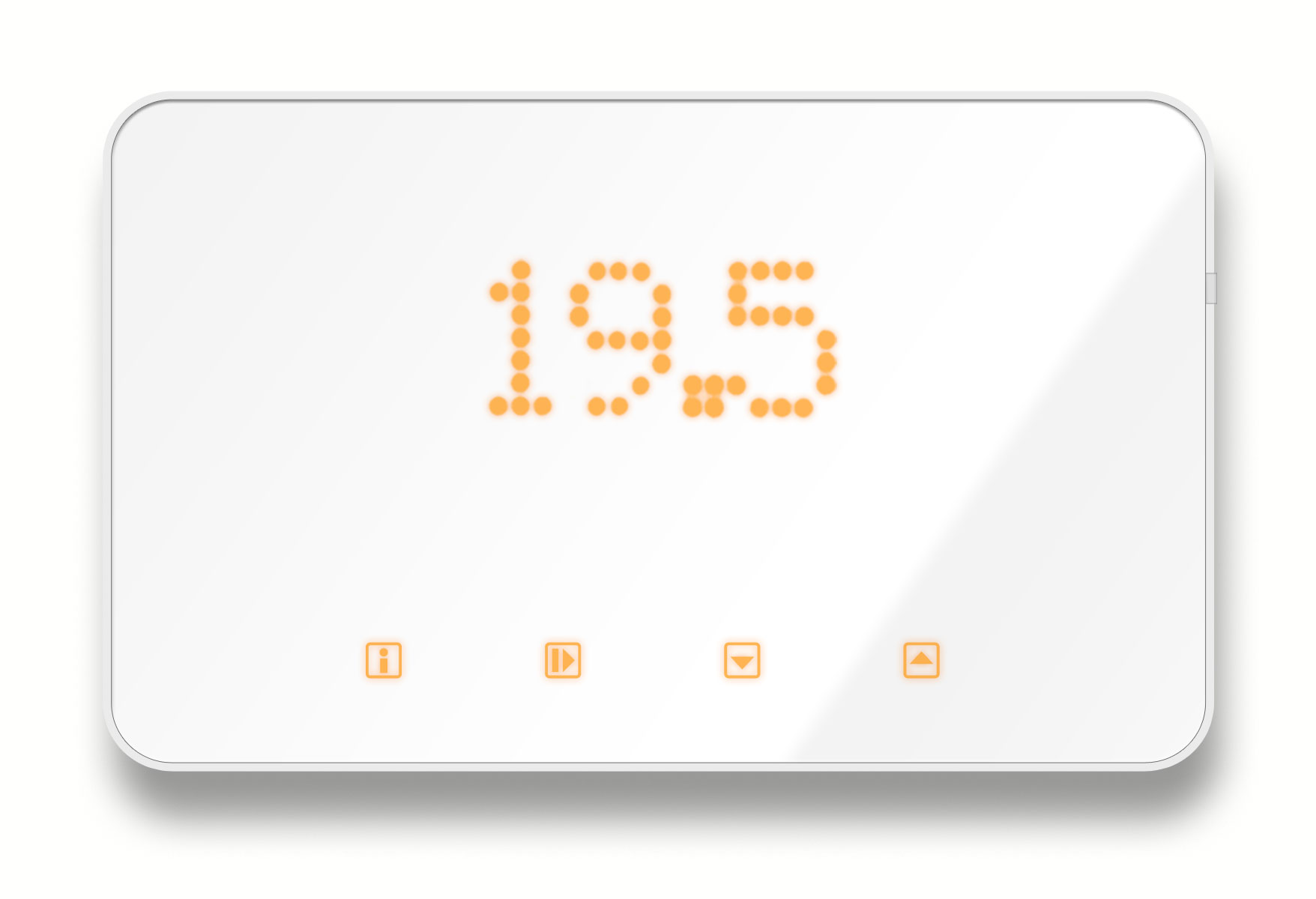 Internet Thermostat Iphone