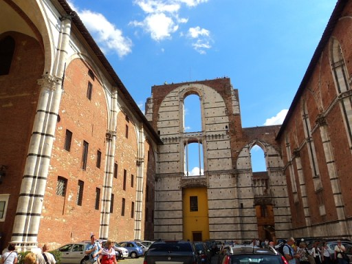 Facciatone, Panoramic Terrance Siena Italy