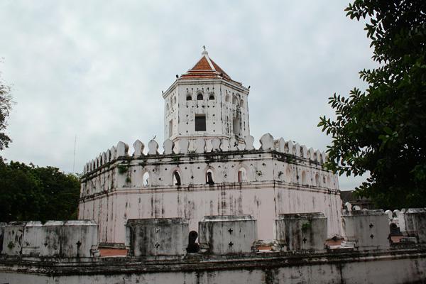 Phra Sumain Fortress in Bangkok, Thailand