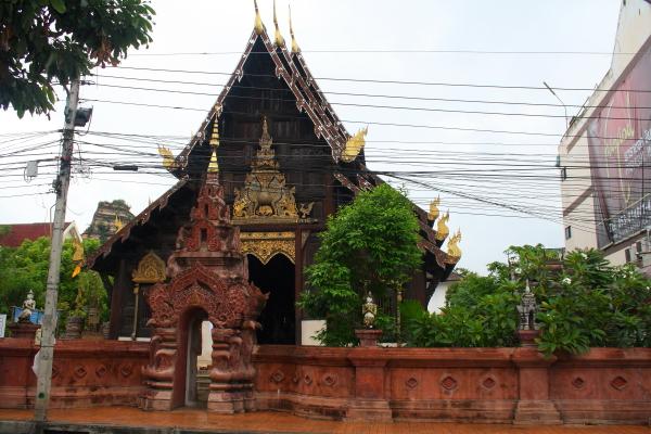 Wat Pan Tao in Chiang Mai, Thailand