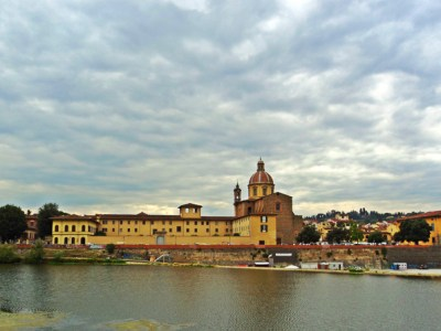 The River Arno in Florence, Italy
