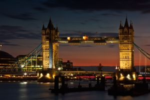 London Bridge in London, UK