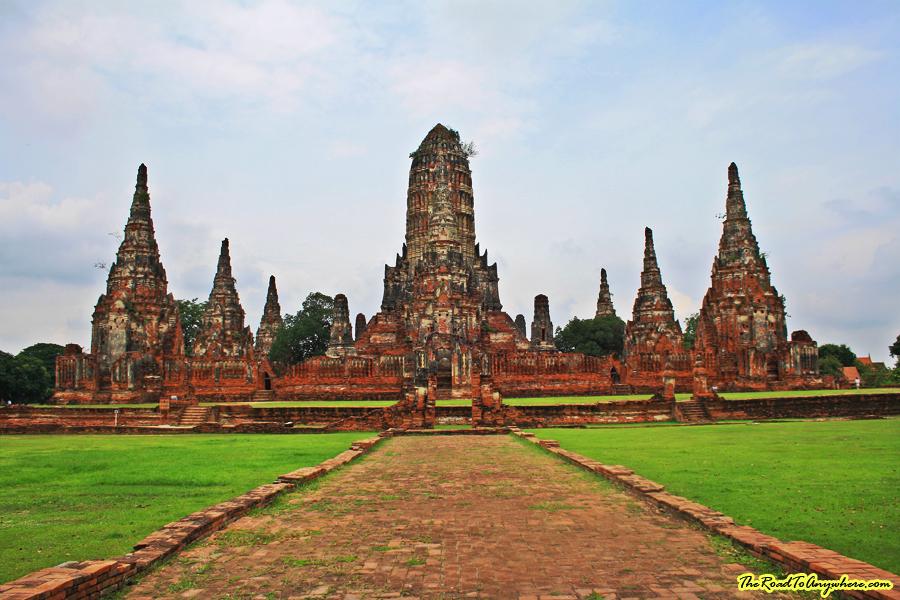 Wat Chaiwatthanaram in Ayutthaya, Thailand