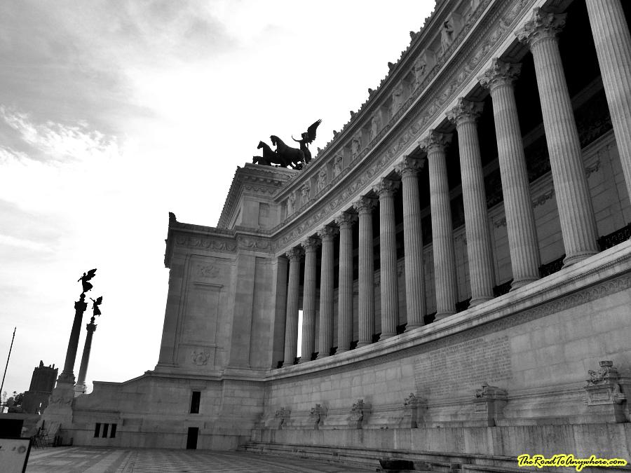Vittorio Emanuele II Monument in Rome, Italy