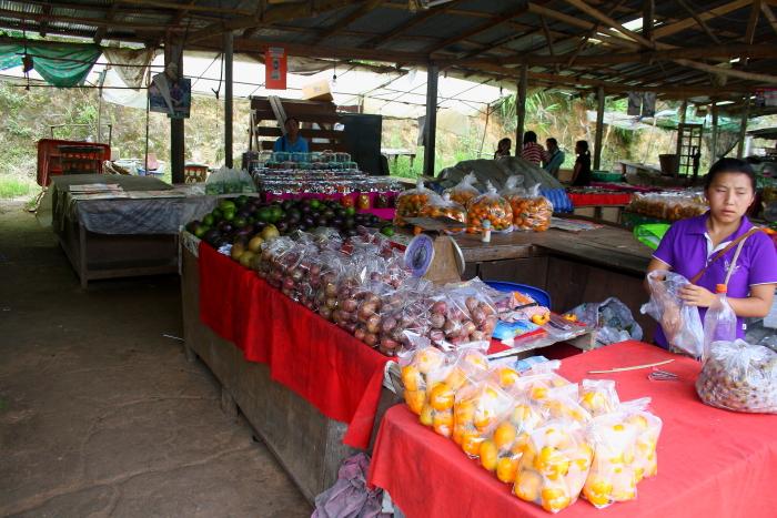 A Market in Northern Thailand
