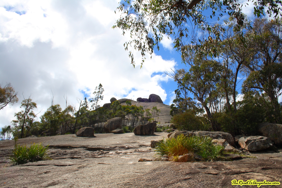 View of the Pyramid in Girraween National Park, Australia