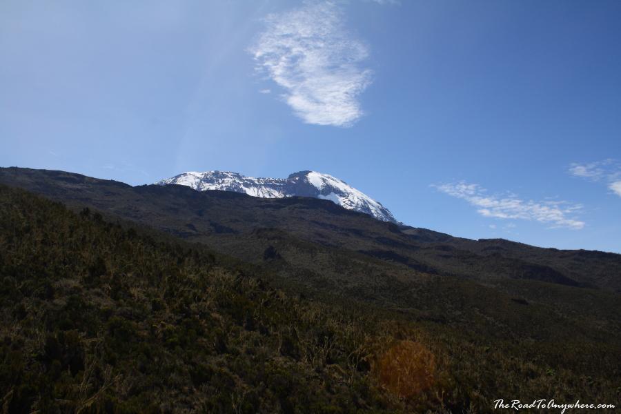 Kibo Peak on the Machame Route on Mount Kilimanjaro, Tanzania