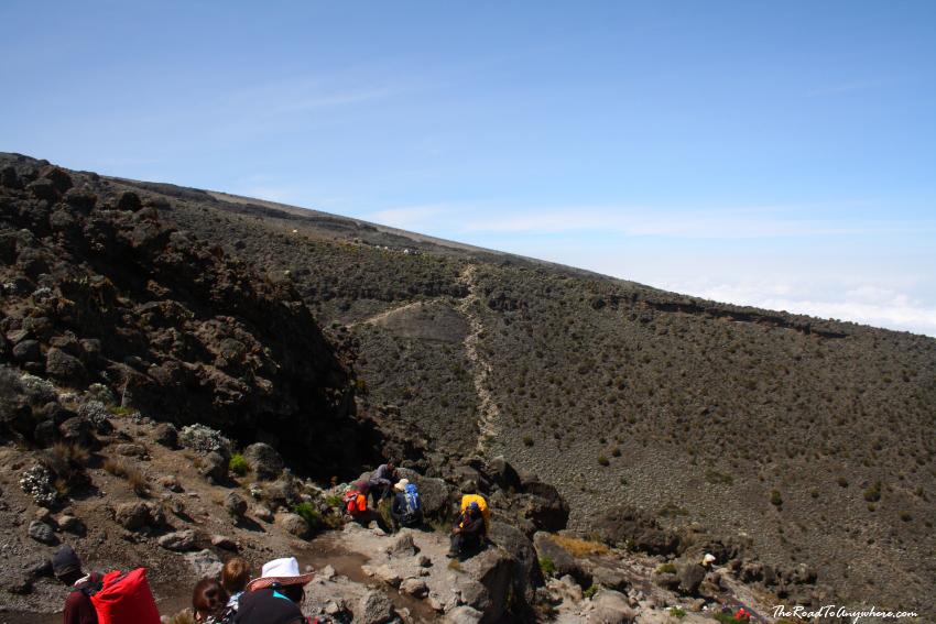 Karanga Valley on Mount Kilimanjaro, Tanzania