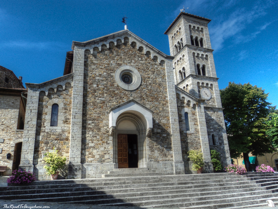 Church of San Salvatore in Castellina in Chianti, Tuscany, Italy