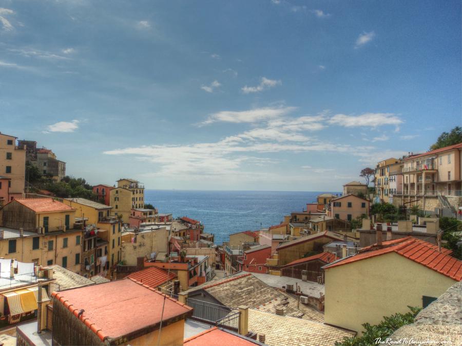 Rooftop view in Riomaggiore, Cinque Terre, Italy