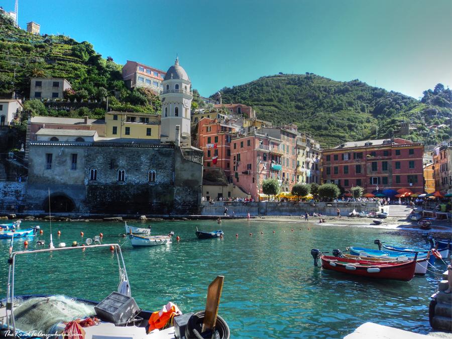 Vernazza Harbour in Cinque Terre, Italy