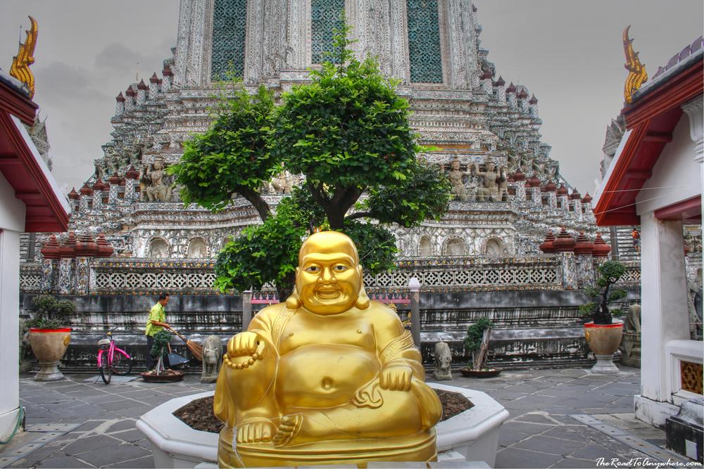 Buddha statue at Wat Arun in Bangkok, Thailand