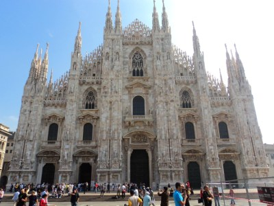 Milan Cathedral Duomo di Milano in Milan, Italy