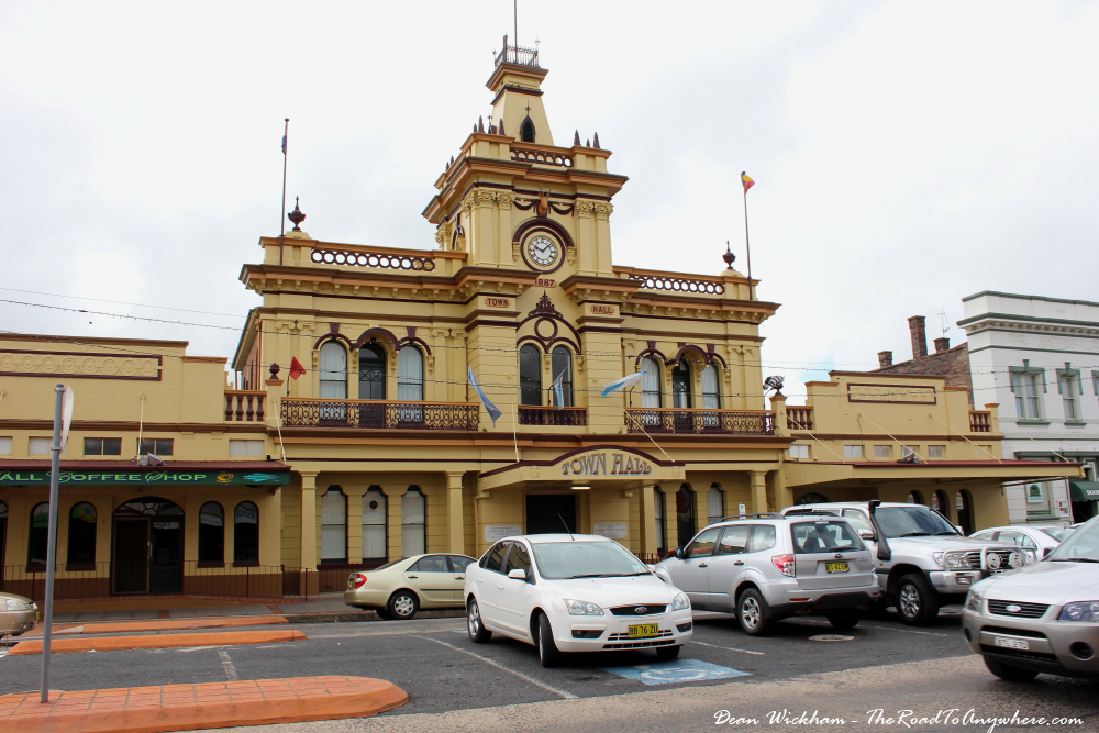 Town Hall in Glen Innes, Australia