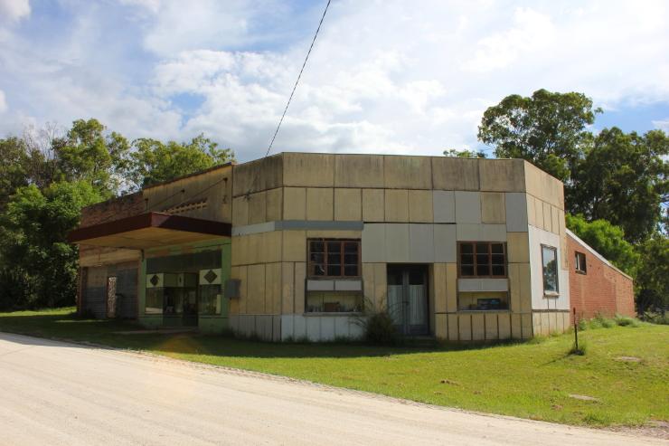 The old general store in Glen Davis, Australia