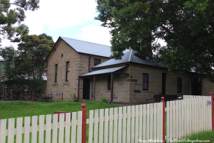 THe old courthouse in Wollombi