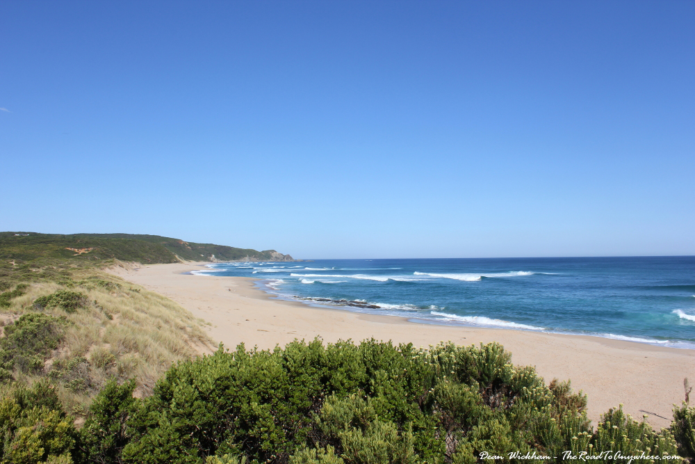 Johanna Beach on the Great Ocean Road, Australia