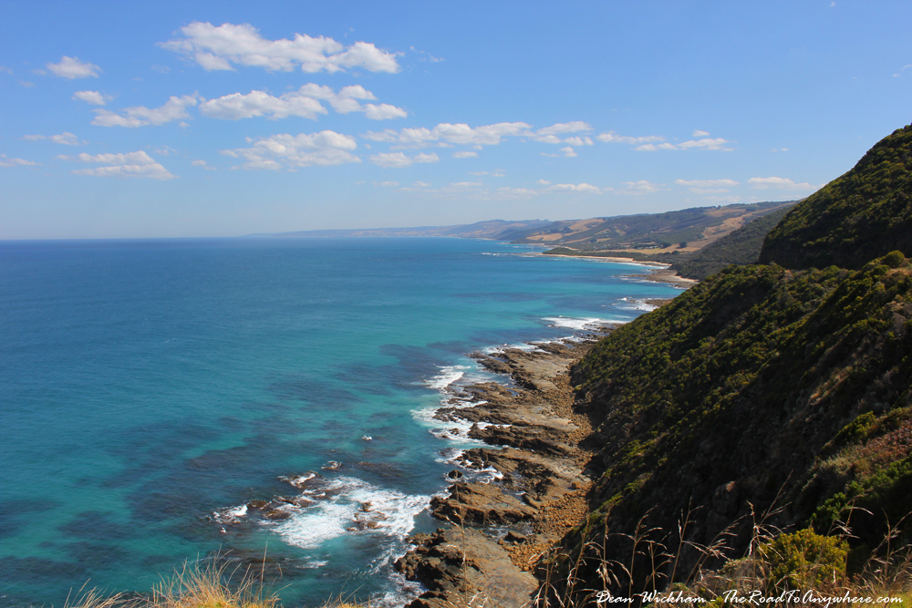 Beautiful coastal view on the Great Ocean Road, Australia