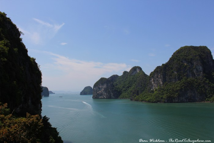Beautiful view in Halong Bay, Vietnam