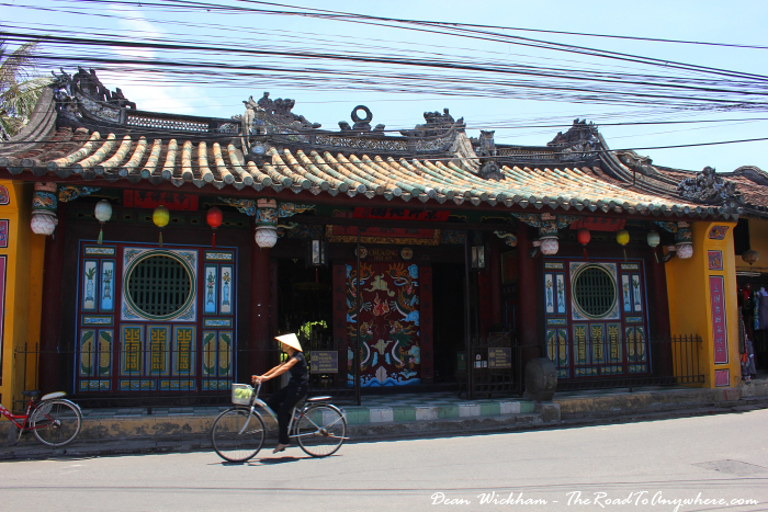 Quan Cong Temple in Hoi An, Vietnam