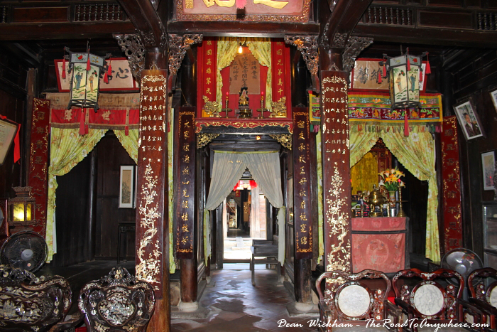 Inside Tan Ky House in Hoi An, Vietnam