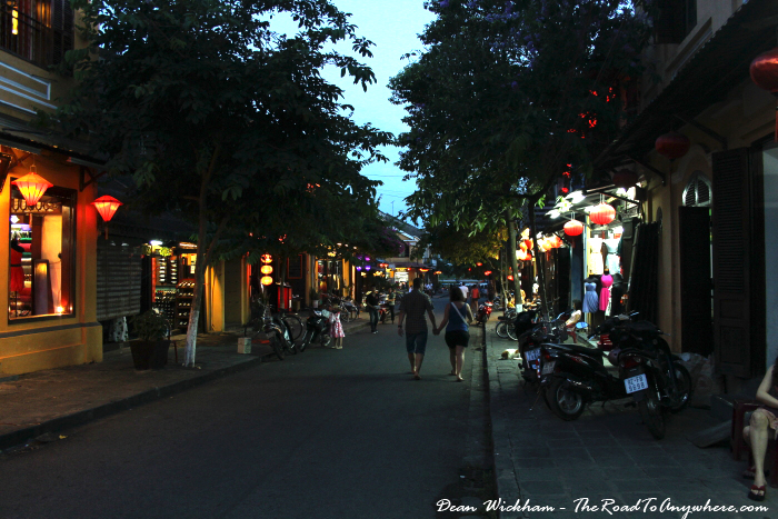 Wandering the streets of Hoi An, Vietnam