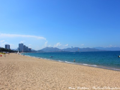 Beautiful beach in Nha Trang, Vietnam