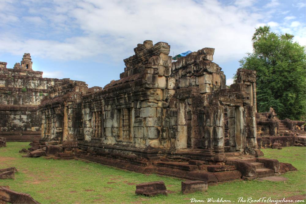 Ruins at Bakong in Angkor, Cambodia