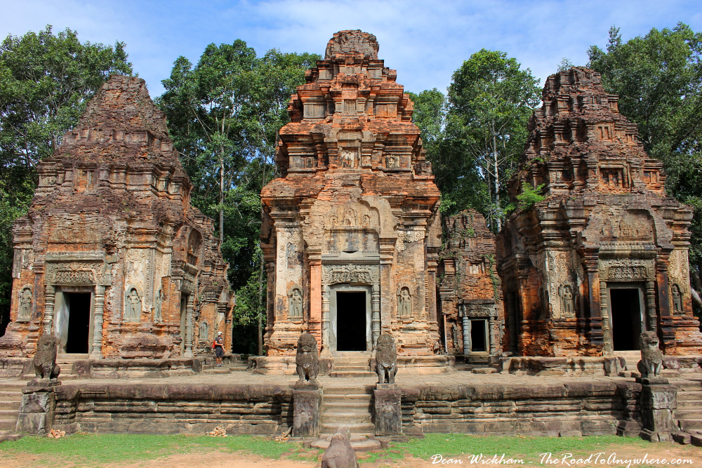 Preah Ko Temple in Angkor, Cambodia