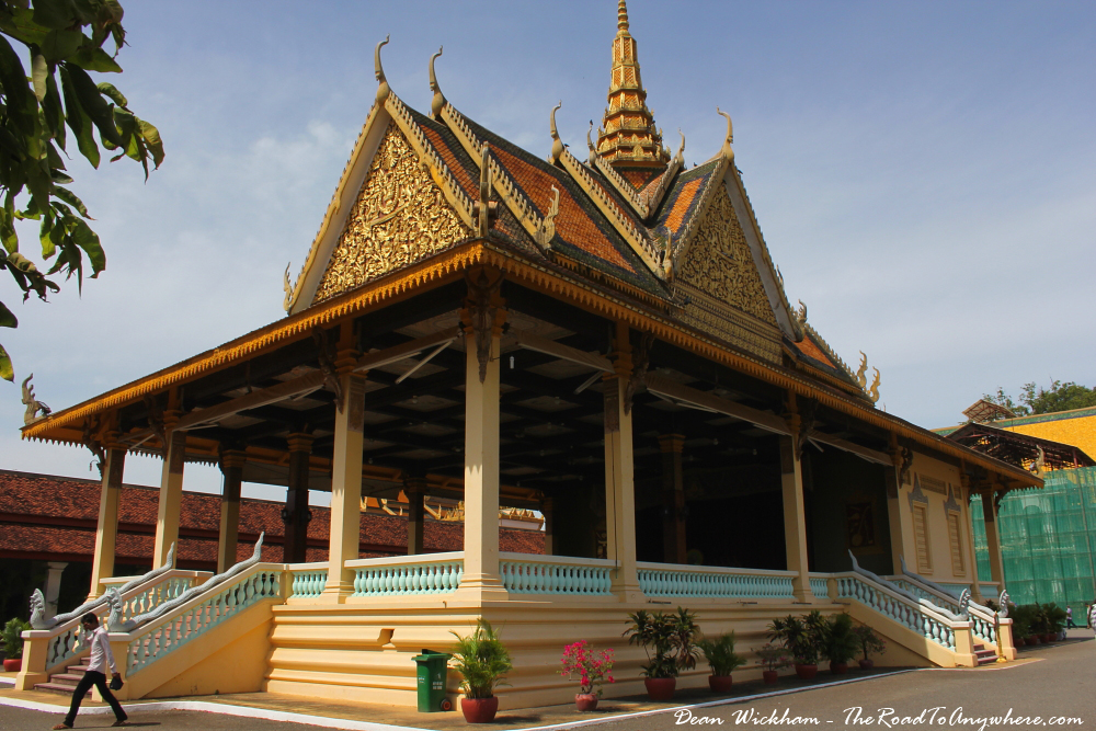 Pochani Pavillion in the Royal Palace in Phnom Penh, Cambodia